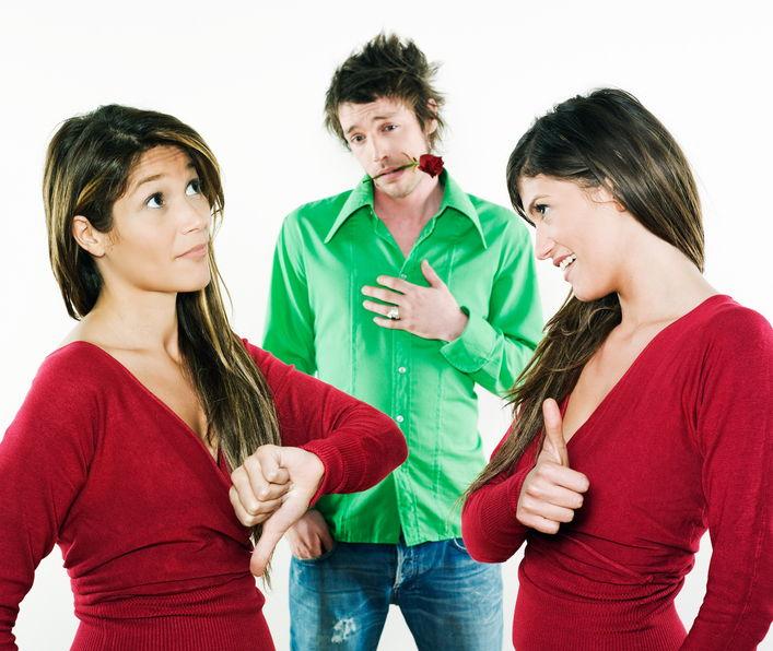 Как сделать выбор между двумя девушками