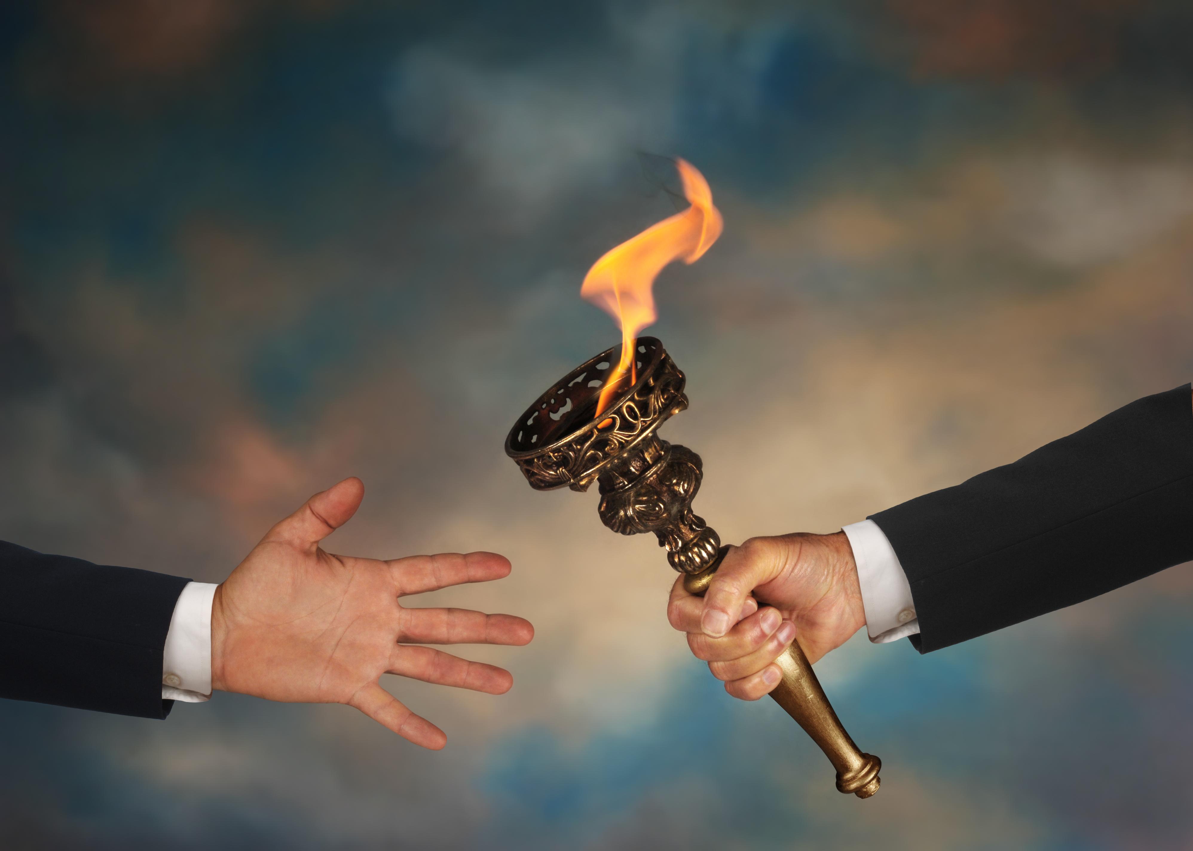 Как найти свое с факелом
