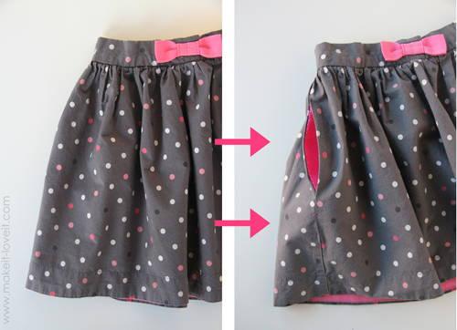 Как сделать карман в платье