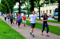 Бег с Удовольствием. Программа для начинающих в Красносельском районе. Вечер.