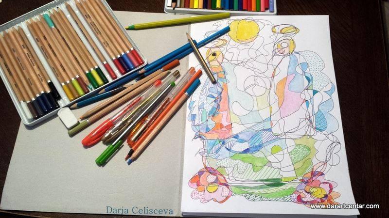 Пример художественного рисунка