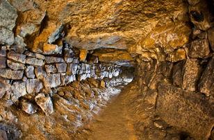 Посещение подмосковной пещеры Силикаты