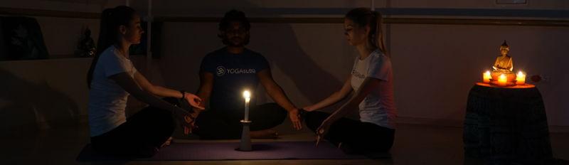 Мастер-класс по медитации с учителем из Индии