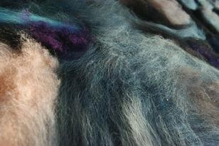 Открытие выставки «Пространство цвета: живопись шерстью»