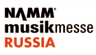 NAMM Musikmesse Russia Official Partner